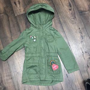 Girls Size 4 Cargo Jacket